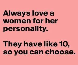 Women Personality