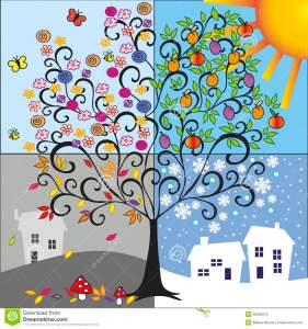 four-seasons-illustration-tree-representing-spring-summer-autumn-winter-38530675