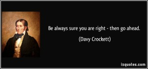 Davy Quote