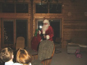 Santa Arrives @ Jann Lodge