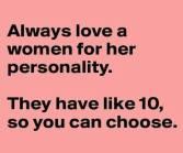 Wk 19 Women Personality