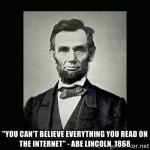 Wk 23 Abe Lincoln & internet