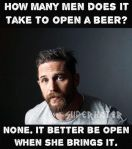 Wk 26 Opening a Beer