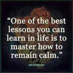 Wk 29 Remaining calm