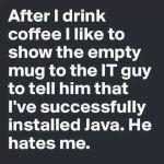Wk 32 Installing Java