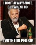 Wk 36 Pedro Endorsement